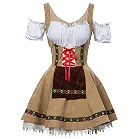 Alivila.Y Fashion Womens Oktoberfest Beer Girl Ger...
