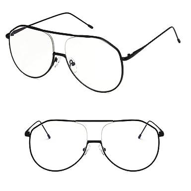 A0127 - Gafas de sol - para mujer Negro Talla única: Amazon ...