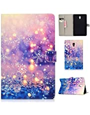 Jorisa Tablet Case Compatible with Samsung Galaxy Tab A 10.5 inch 2018 SM-T590/T595,Slim Lightweight Leather Wallet Flip Folio Stand Cover with Card Slots Magnetic Closure Case,Purple Quicksand