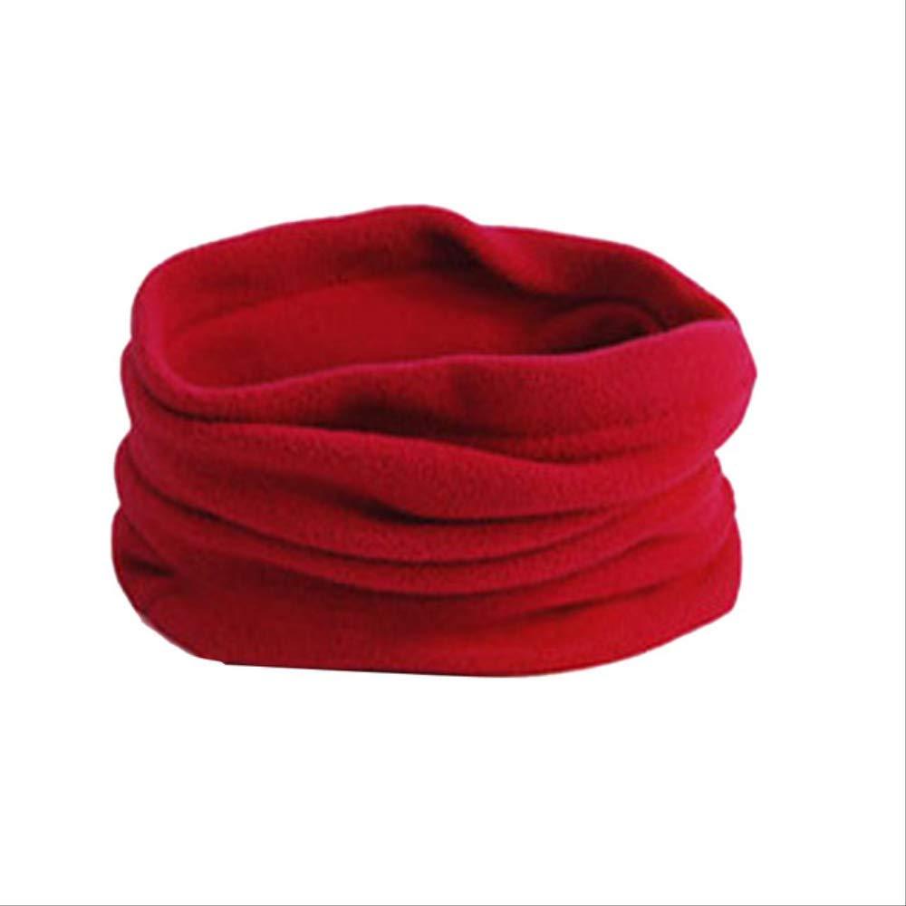 ZZYYModa Caldo Cashmere Sciarpa Invernale Avvolge Uomini Donne Unisex Polar Cappello Scaldatore Viso Maschera Maschera Stati Uniti rosso