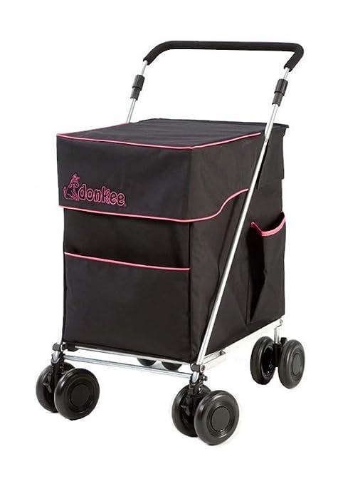 Carrito de Compras o de Ocio Plegable Little Donkee, 4 (8) Ruedas, Duradero, Resistente a la Intemperie, Fuerte y Estable para Caminar. Vendido ...