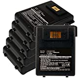 6x Exell EBS-CN70X Li-Ion 3.7V 4600mAh Batteries For Intermec CN70, CN70e. Replaces Cameron Sino CS-ICN700BX, INTERMEC 318-043-002