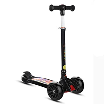 Scooter para Niños Mini Patinete Scooter con Intermitente ...