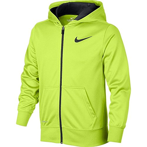 Boys 8-20 Nike KO Therma-FIT Full-Zip Hoodie (Volt Anthracite, Small)