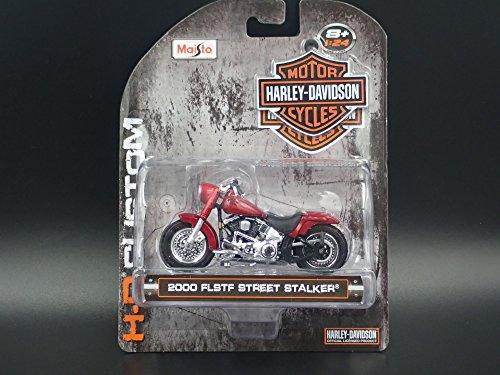 2000 FLSTF STREET STALKER HARLEY DAVIDSON MOTORCYCLE H-D 1:24 DIECAST MODEL