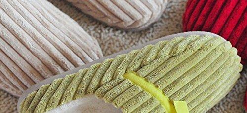 Pantoufles De Maison De Temps De Bronze (tm), Molleton De Corail Unisexe