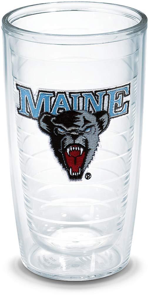 16 oz Tervis Maine University Emblem Individual Tumbler Clear