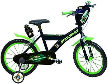 Star Wars Darth Vader Bicicleta niño, Color Yoda - Noir/Vert, tamaño ...
