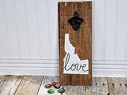 Idaho Love Rustic Bottle Cap Opener