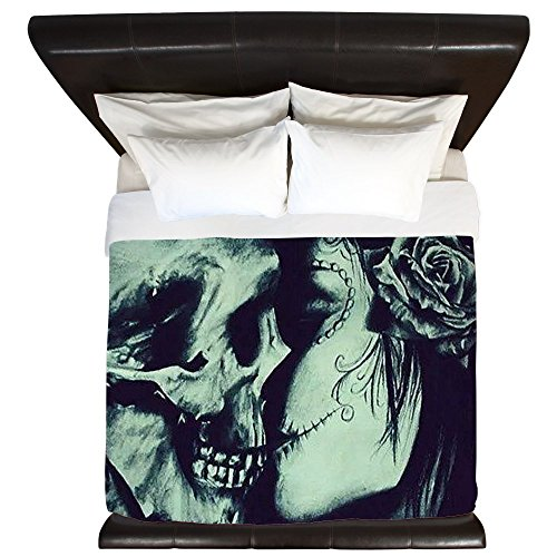 CafePress - Goth Halloween - King Duvet Cover, Printed Comforter Cover, Unique Bedding, Luxe