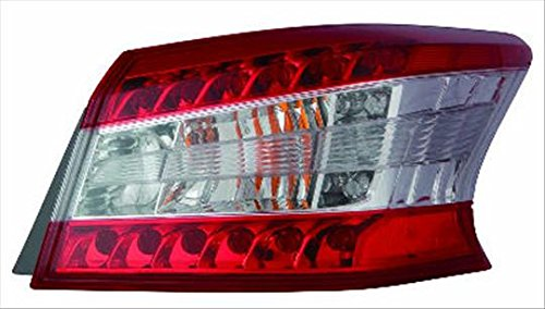 Partslink NI2804100 OE Replacement Tail Light Assembly NISSAN SENTRA 2013-2015 Multiple Manufacturers NI2804100N