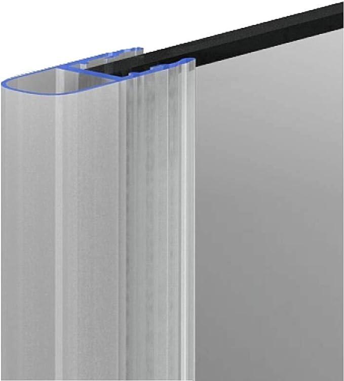 Ducha Junta Junta para puertas. Fuelle para modelo 9 para 8 mm grosor de cristal 160 cm: Amazon.es: Bricolaje y herramientas