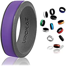 UROKAZ-Silicone Fashion Rings, The Only Ring that Fits Your Lifestyles-Whether You are Single or Married, UROKAZ Ring is Right For You-It is fashionable,Flexible,and Comfortable
