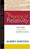 The Meaning of Relativity, Einstein, Albert, 0691080070
