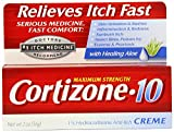Cortizone-10 Max Strength Cortizone-10 Creme, 2 Ounce Box (Pack of 4)