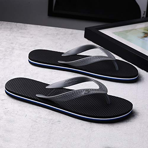 BACHULAIA Tongs Marée Masculine Été Nouveaux Pantoufles Hommes Pantoufles Mode Coréenne Tendance Sandales À L'Extérieur Portant des Chaussures De Plage