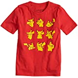 Jumping Beans Boys 4-10 Pokemon Pikachu Poses Graphic Tee 5 Red Heather