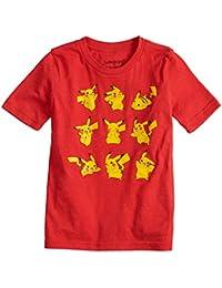 Boys 4-10 Pokemon Pikachu Poses Graphic Tee