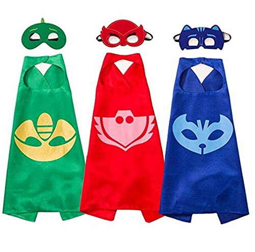 Trendership 3PCS Superhero Masks Costumes and Dress up for Kids - Masks for Super Hero by Trendership