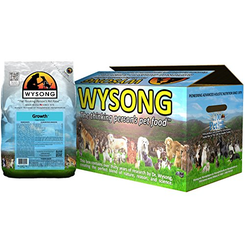 Wysong Growth Puppy Formula Dry Puppy Food, Four- 5 Pound Bags