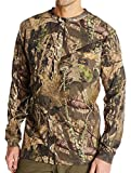 Walls Boy's Hunting Long Sleeve Pocket T-Shirt, Mossy Oak Breakup Country, M Regular