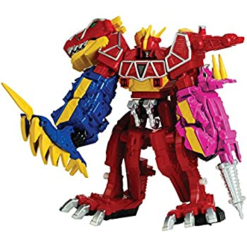 Amazon power rangers dino super charge dino charge megazord power rangers dino super charge dino charge megazord action figure voltagebd Images