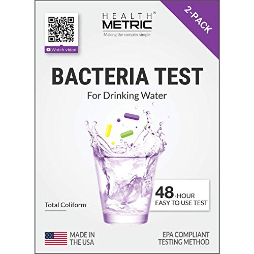 Coliform Bacteria Test Kit for Drinking Water