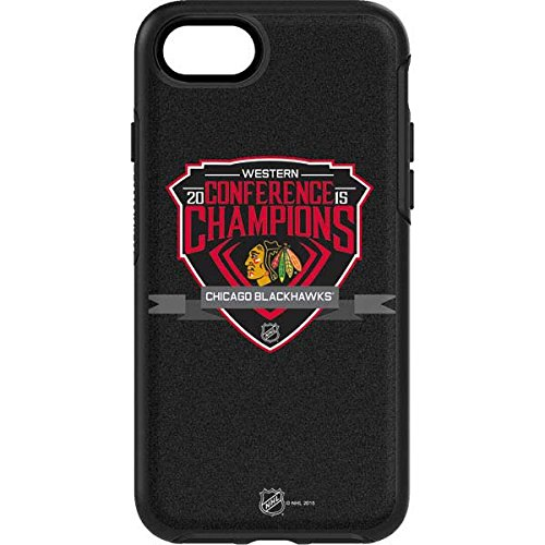 NHL Chicago Blackhawks OtterBox Symmetry iPhone 7 Skin - Western Conference Champions 2015 Chicago Blackhawks Vinyl Decal Skin For Your OtterBox Symmetry iPhone 7 by Skinit