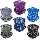 Toes Home 6PCS Outdoor Magic Headband Elastic