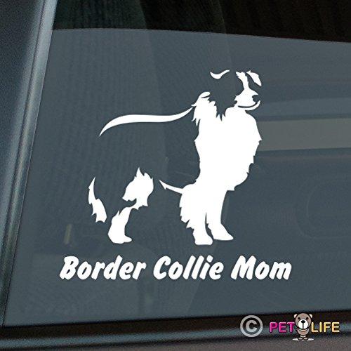 Best border collie vinyl window sticker