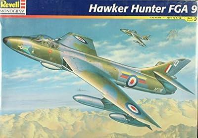 Revell Monogram 1:32 Hawker Hunter FGA 9 Plastic Aircraft Model Kit #4670