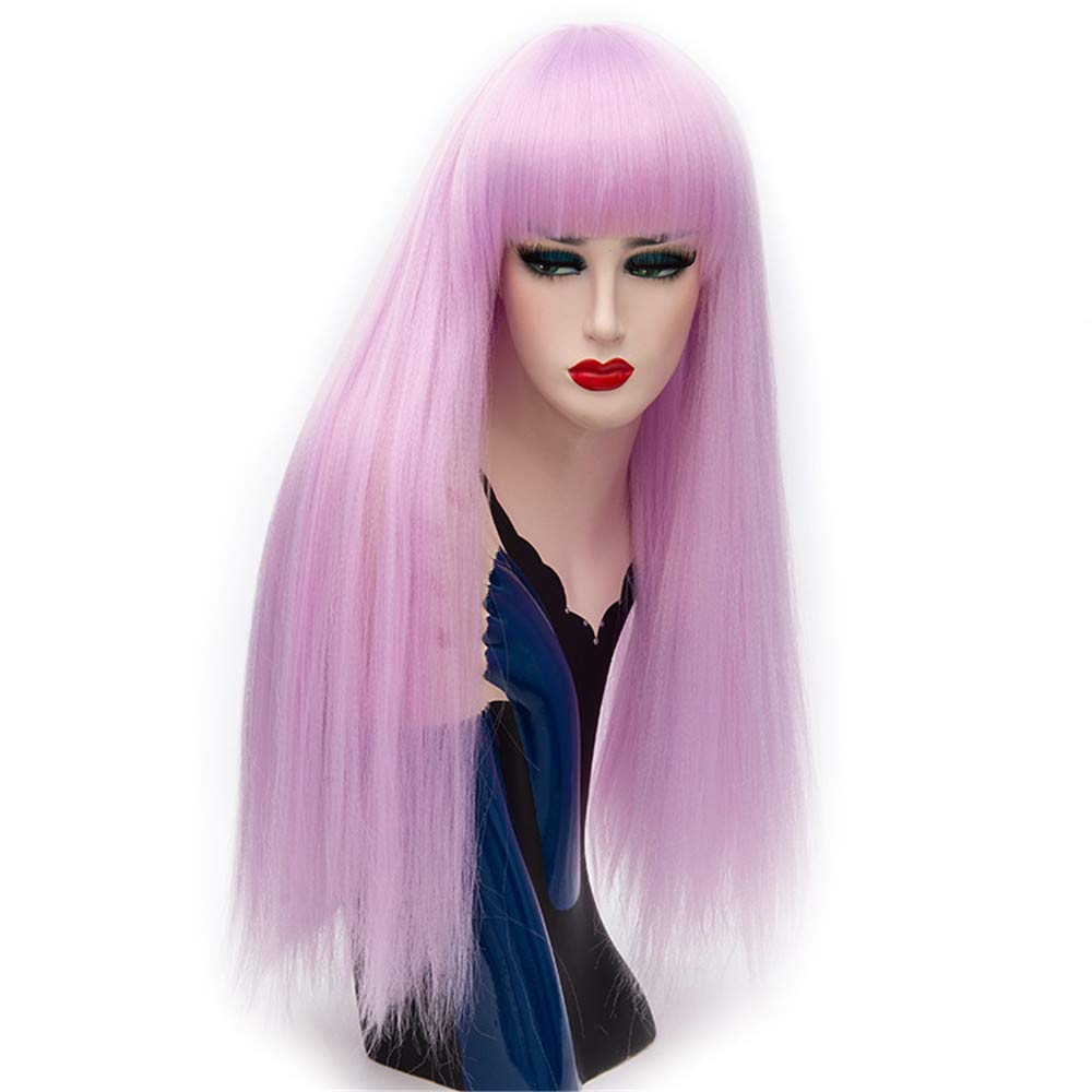LONGLOVE European and American Wigs European and American Fashion Wigs Qi Liu Yayake Long Straight Hair Wigs (15)