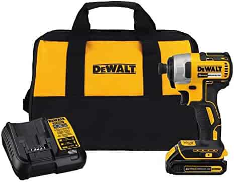 DEWALT DCF787C1 Cordless Impact Driver Kit (Includes Battery and Charger)