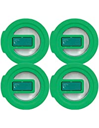 Want Pyrex 7202-NLC Green No-Leak Vented Round Storage Lid for 1 Cup Bowl (4-Pack) offer