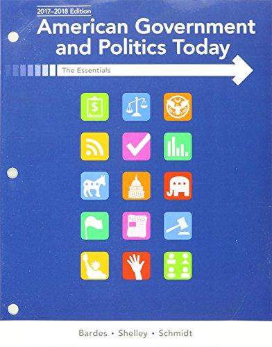 Amer.Govern.+Pol..:Essen. W/Access (Ll)