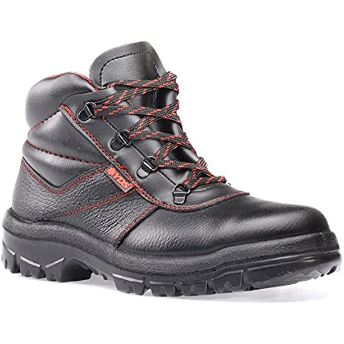 RUGGEDIM YDS Safety Boots with Steel Toe | Anti-Static, Shock Absorbent Work Boots