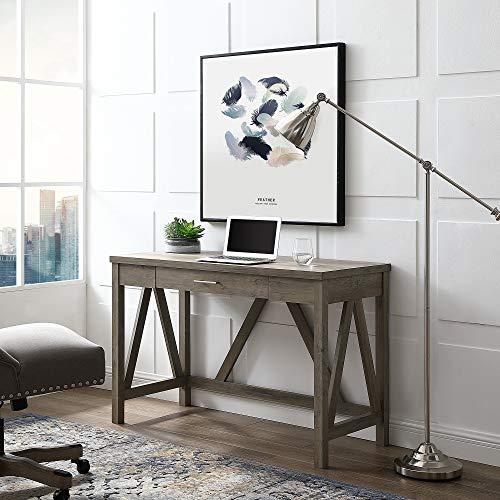 WE Furniture AZW46AFGW Desk 46