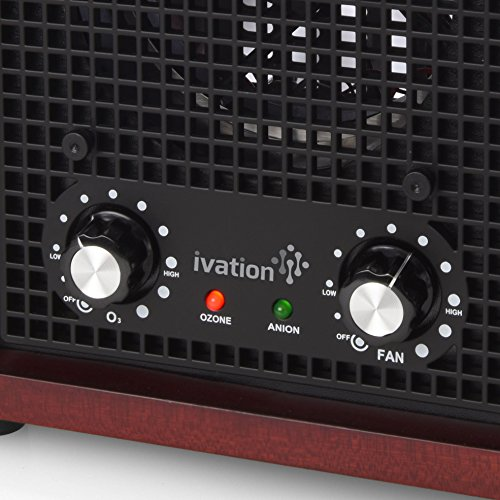 Ivation Ozone Generator Air Purifier, Ionizer & Deodorizer – Purifies Up to 3,500 Sq/Ft – Great for Dust, Pollen, Pets, Smoke & More by Ivation (Image #5)