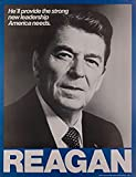 Original & Authentic Ronald Reagan for President Campaign Poster