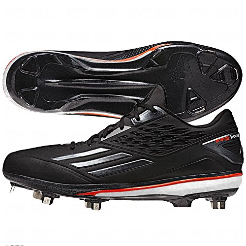 0d3f0e2d6df1c Galleon - Adidas Men s Energy Boost Icon Baseball Cleats (Black Red - Size  11)