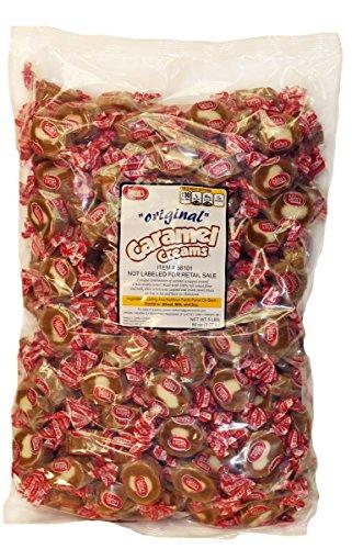 - Goetze's Caramel Creams, 5 Pound Bag, 2 Count
