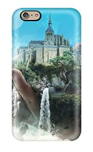 For CaseyKBrown Iphone Protective Case, High Quality For Iphone 6 Castle Artistic Skin Case Cover
