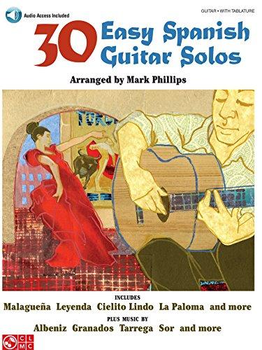 (Easy Guitar). Easy arrangements with tab of favorites by Albeniz, Granados, Sor, Tarrega, and others. Includes: Cielito Lindo * Lagrima * Leyenda * Malaguena * La Paloma * Salamanca * and more. Also includes audio demonstrations.
