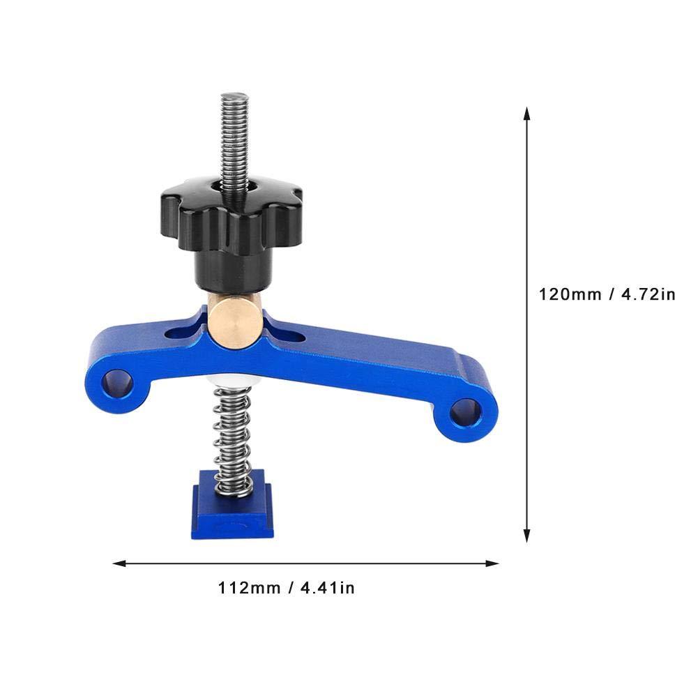 Morsetti per T-Slot,Morsetto con Scanalatura a T,Strumento per la Lavorazione del Legno Adatti per Molte Applicazioni di Falegnameria e Lavorazione dei Metalli