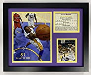 Legends Never Die Kobe Bryant 81 Point Game Framed Photo Collage, 11 x 14-Inch