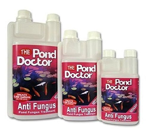 TAP POND DOCTOR ANTI FUNGUS MOUTH SORES FINROT DISEASE KOI FISH WATER TREATMENT (2.5 Litres)
