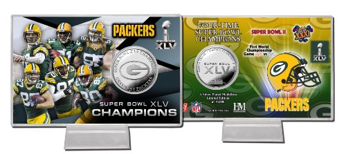 NFL Super Bowl XLV Silver Coin Card ()