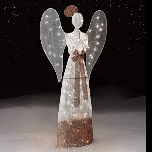 Lighted Angel Outdoor Decoration