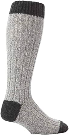 Workforce - 3 Pack Mens Thick Extra Long Knee High Wool Rich Work Boot Socks
