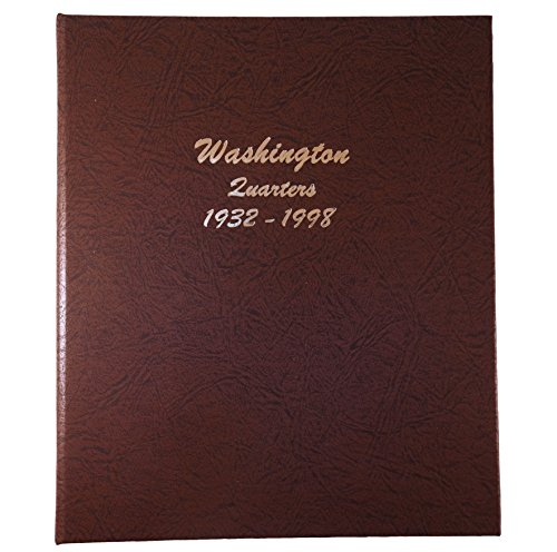 Dansco US Washington Quarter Coin Album 1932-1998 #7140 (1977 Washington Quarter)